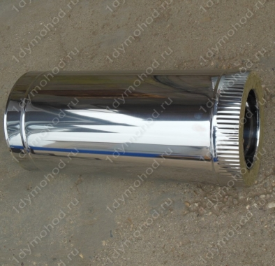 Купите сэндвич трубу 300/380 мм 500 мм из нержавеющей стали 0,8 мм