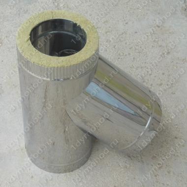 Купите сэндвич-тройник 250/330 мм 45 (135) из нержавеющей стали 1 мм