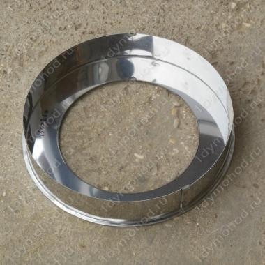 Заглушка кольцевая 115/200 мм из нержавеющей стали 0,5 мм цена