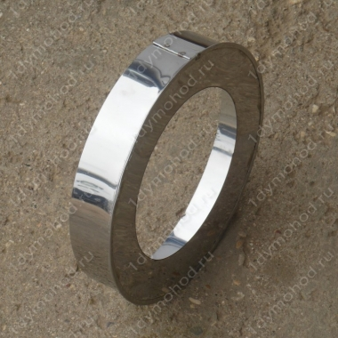 Заглушка кольцевая 350/430 мм из нержавеющей стали 0,5 мм
