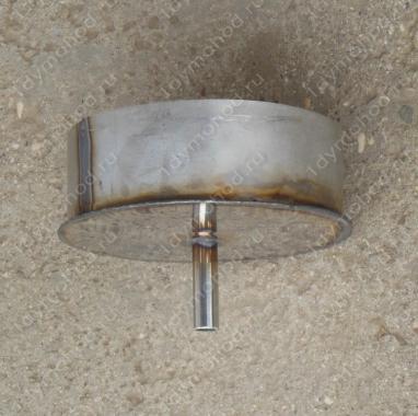 Конденсатоотвод 130 мм из нержавеющей стали AISI 304, 0,8 мм цена