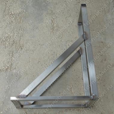 Купите консоль стеновую 250х500 мм до 230 мм нержавеющая профильная трубу