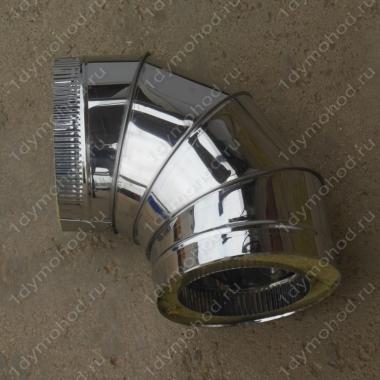 Купите сэндвич-отвод 350/430 мм 90 из нержавеющей стали 1 мм