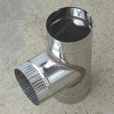 Купите одноконтурный тройник 130 мм 90 из нержавеющей стали 0,8 мм