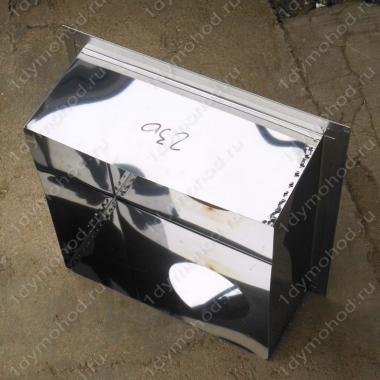 Купите песочницу 230 мм из нержавейки и оцинковки