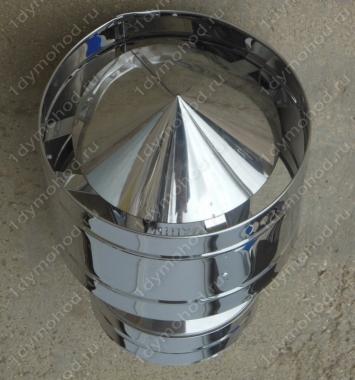 Купите дефлектор 115/200 мм из нержавейки 0,5 мм
