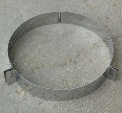 Хомут 380 мм под растяжки из нержавеющей стали 0,8 мм