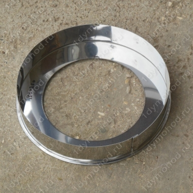 Заглушка кольцевая 550/630 мм из нержавеющей стали 0,5 мм цена