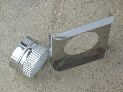 Купите опорную монтажную площадку для дымохода 550/630 мм