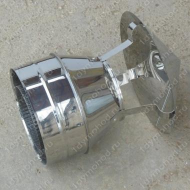 Купите дымоходный колпак 500/580 мм из нержавейки 0,5 мм