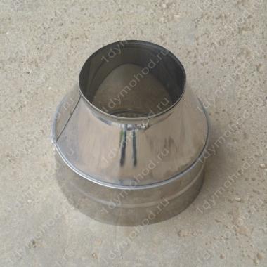 Конус 400/480 мм из нержавейки 0,5 мм