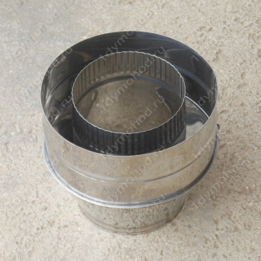 Конус 500/580 мм из нержавейки 0,5 мм цена