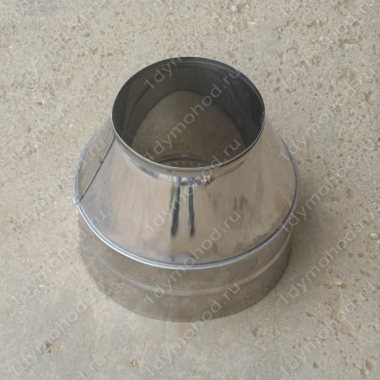 Конус 600/680 мм из нержавейки 0,5 мм
