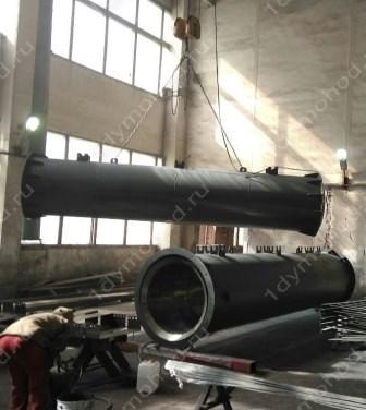 Производство и проектирование дымовых труб из металла