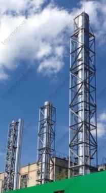 Проектирование и производство металлических ферм для дымовых труб