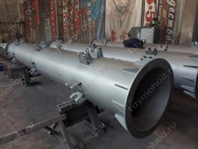 Купите несущие мачты для дымовых труб высотой от 9 до 45 м